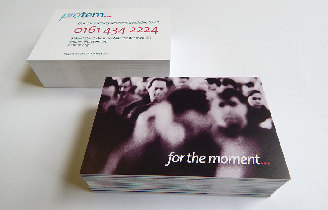 High quality business card printing