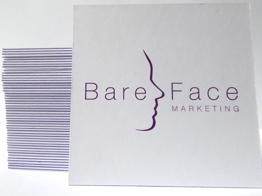Thick business card printing