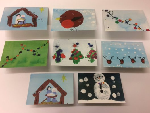 Christmas cards printed for schools
